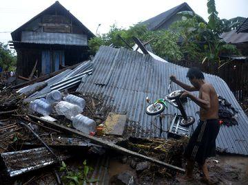 Kerusakan Akibat Banjir Bandang di Bantaeng Sulsel