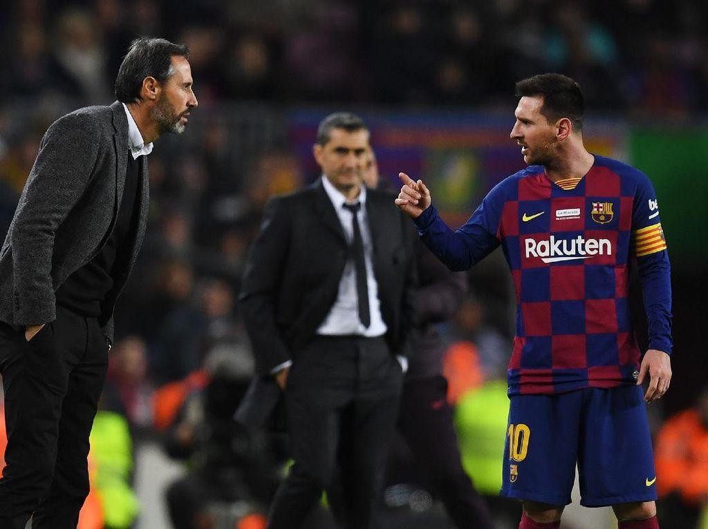 Pelatih Mallorca Kenang Momen Ribut dengan Messi