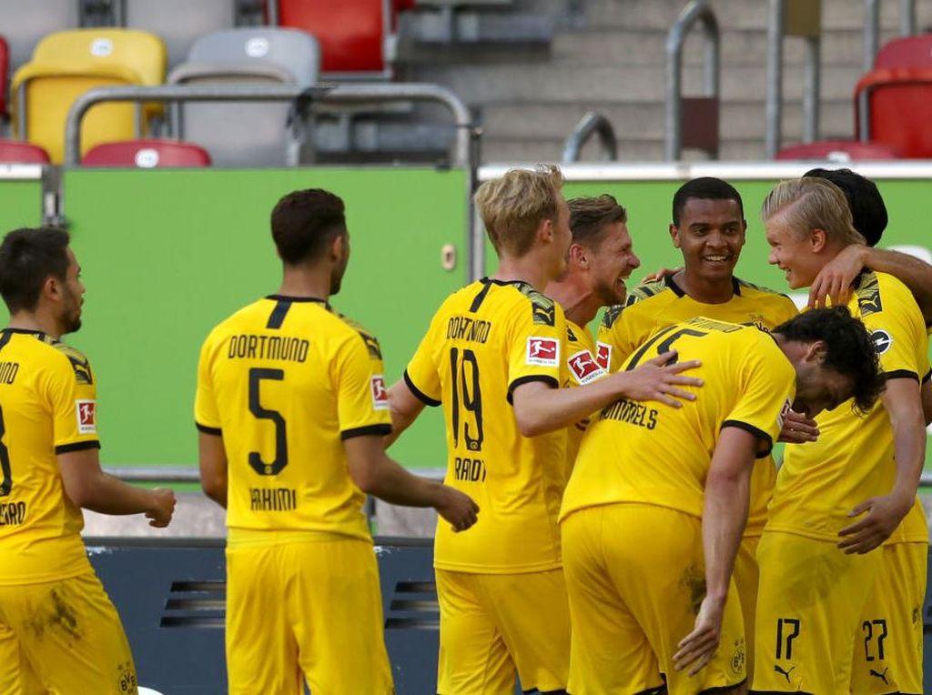 Hasil Liga Jerman: Dortmund Menang Tipis Atas Dusseldorf