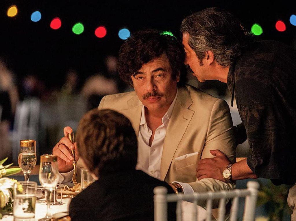 Sinopsis Escobar: Paradise Lost, Benicio del Toro Jadi Gembong Narkotika