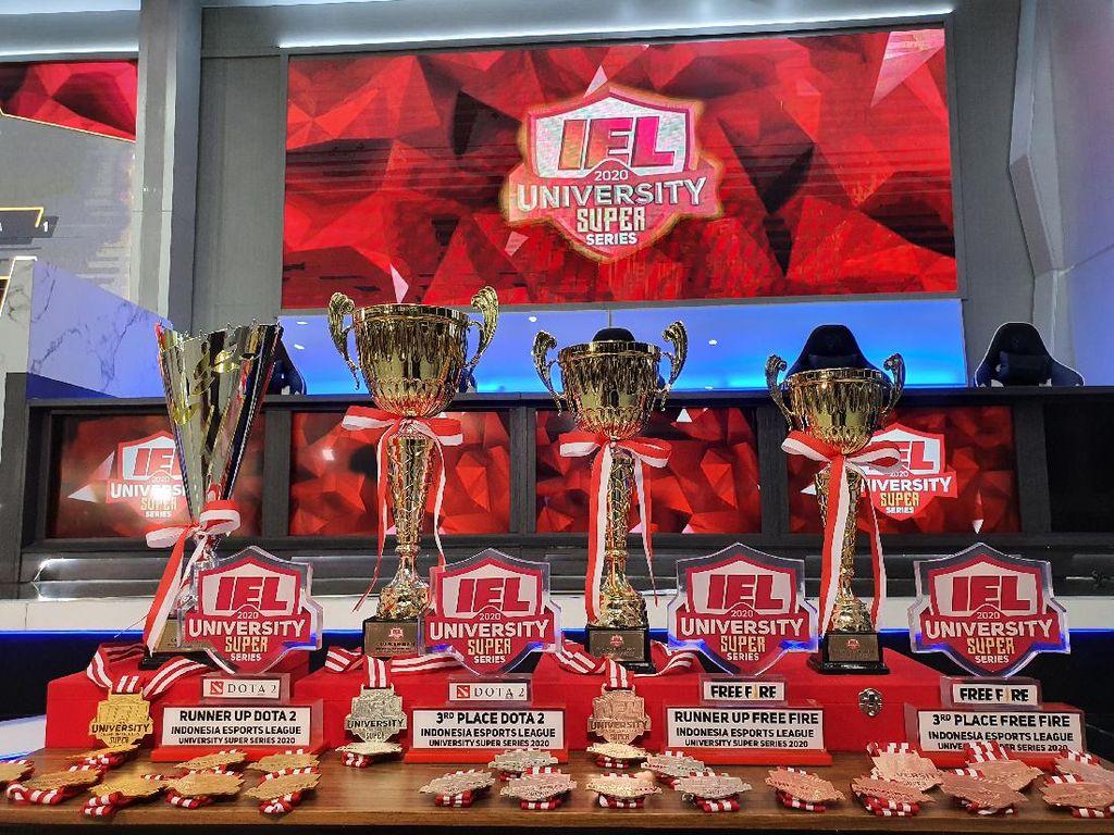 UNJ dan UGM Jadi Pemenang IEL University Super Series 2020