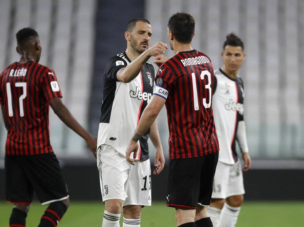 Cuma Imbang Lawan Milan, Bonucci: Yang Penting ke Final