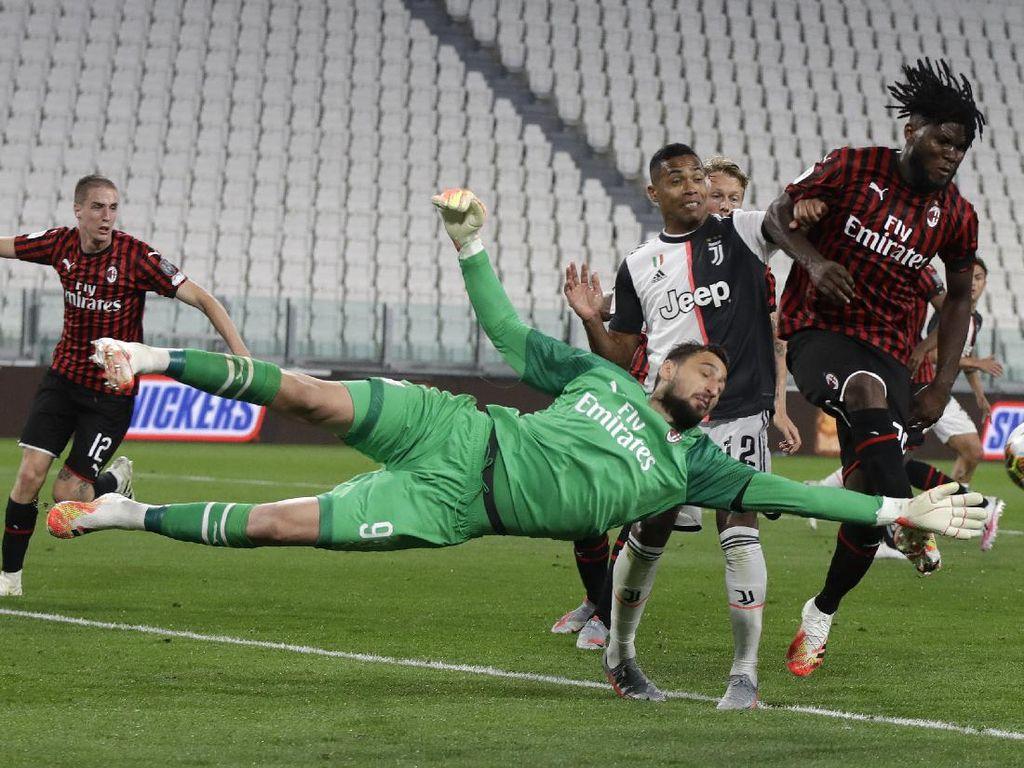 Data & Fakta Juventus Vs Milan yang Banyak Drama