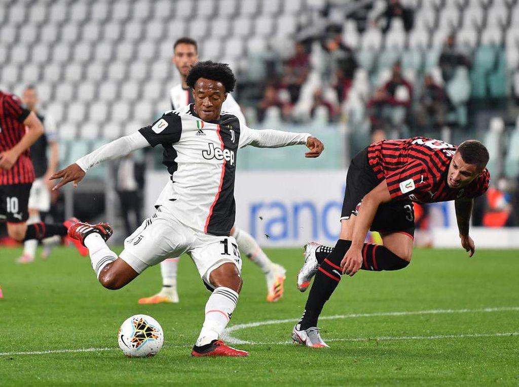Juventus Vs Milan Ditonton Jutaan Pecinta Sepakbola di Italia