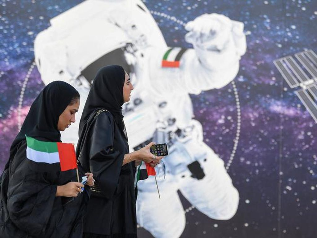 Potret di Balik Layar Uni Emirat Arab Wujudkan Misi ke Mars