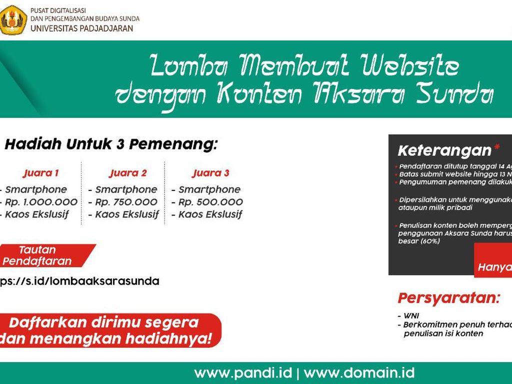 Lestarikan Budaya Sunda dengan Membuat Website