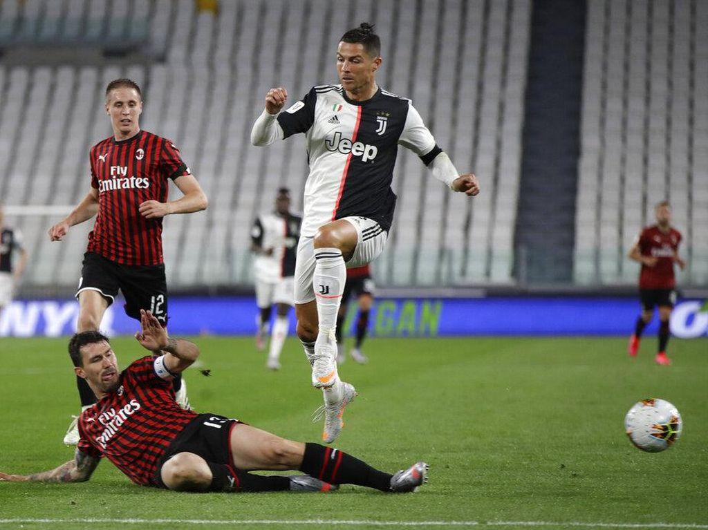 Susunan Pemain AC Milan Vs Juventus