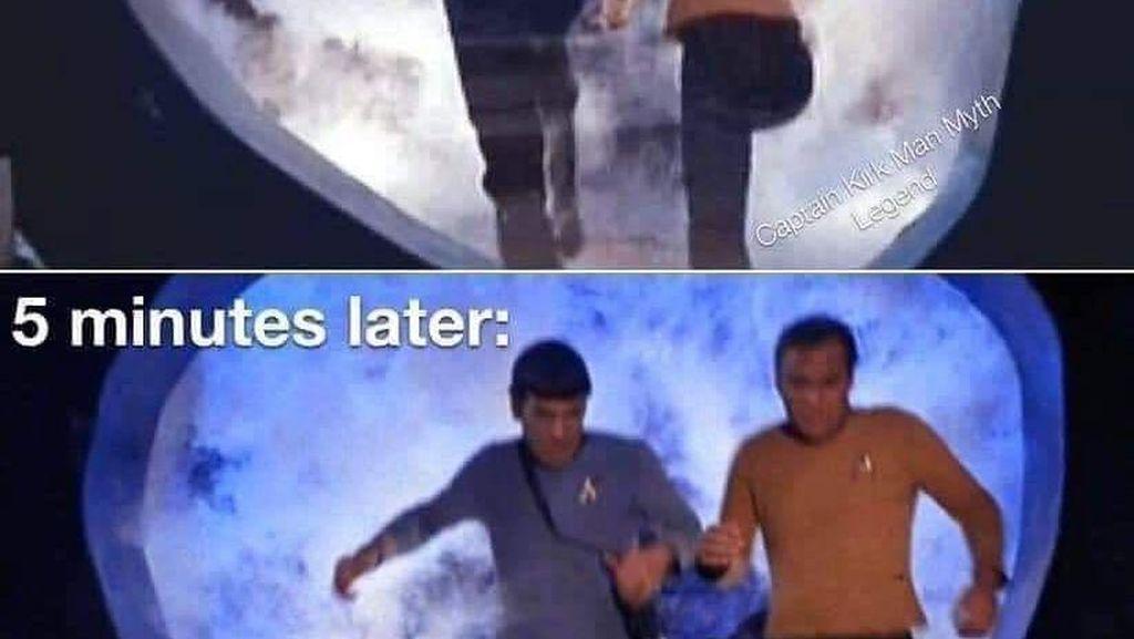 Meme Penjelajah Waktu, Seandainya Mesin Waktu Ditemukan