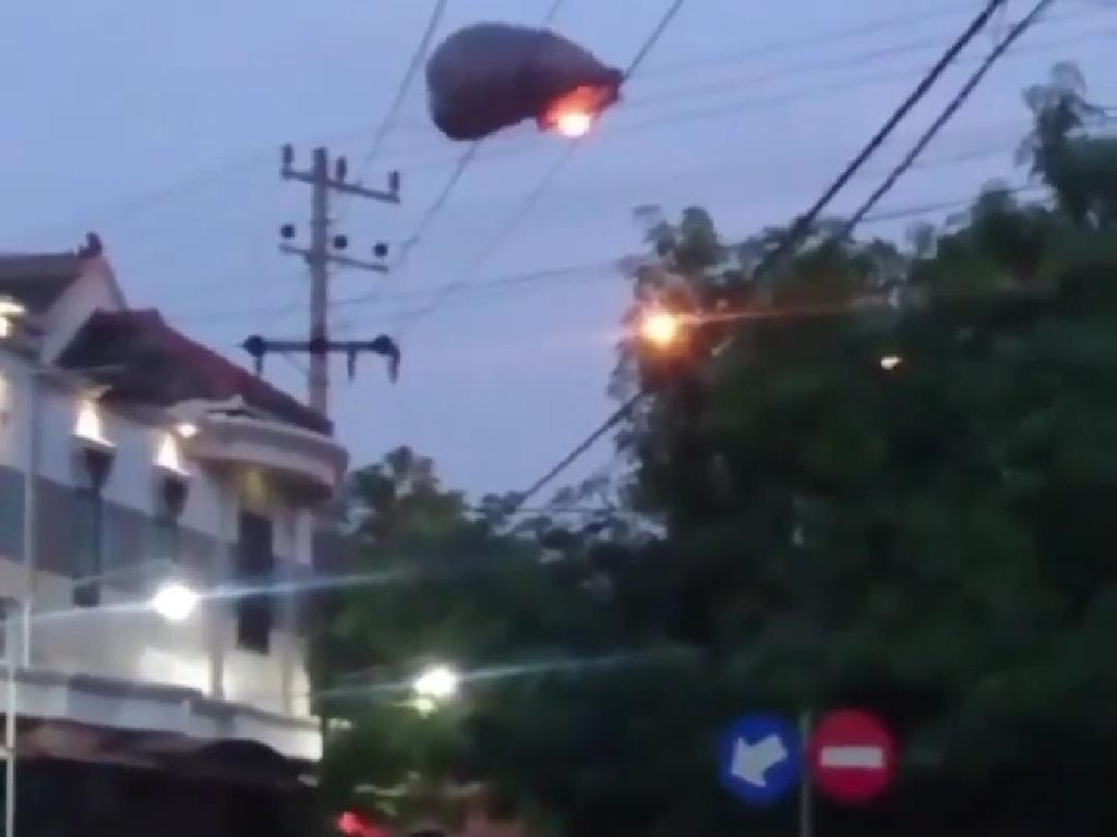 Balon Udara Nyangkut Kabel, 21.669 Pelanggan PLN di Ponorogo Mati Listrik
