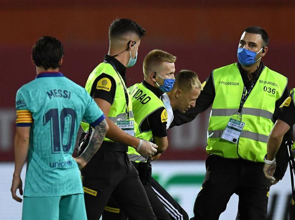 LaLiga Polisikan Penyusup Laga Mallorca Vs Barcelona