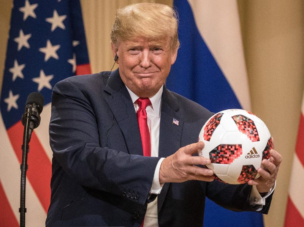 Donald Trump Ogah Tonton Lagi Timnas AS, Mengapa?