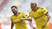 Haaland 2 Gol, Dortmund Tumbangkan RB Leipzig