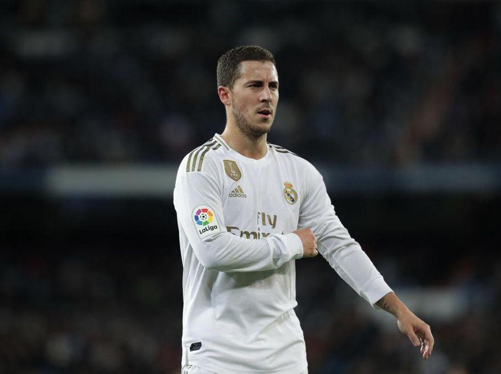 Zidane Akan Hati-Hati Perlakukan Hazard