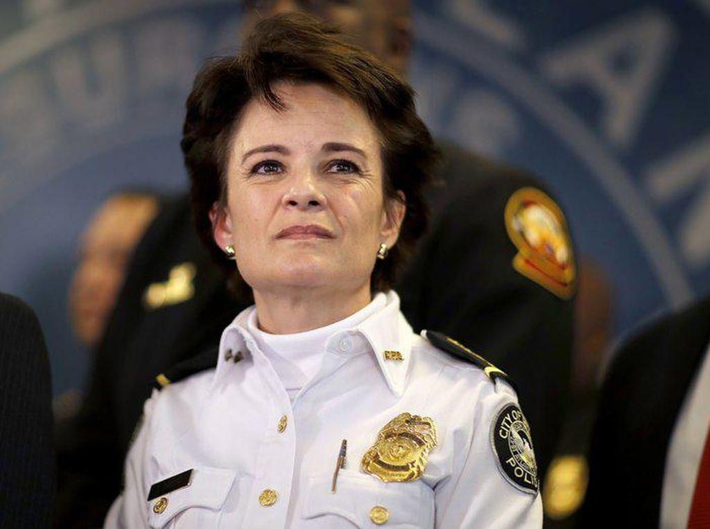 Kepala Polisi Atlanta AS Mundur Usai Bawahannya Tembak Pria Kulit Hitam