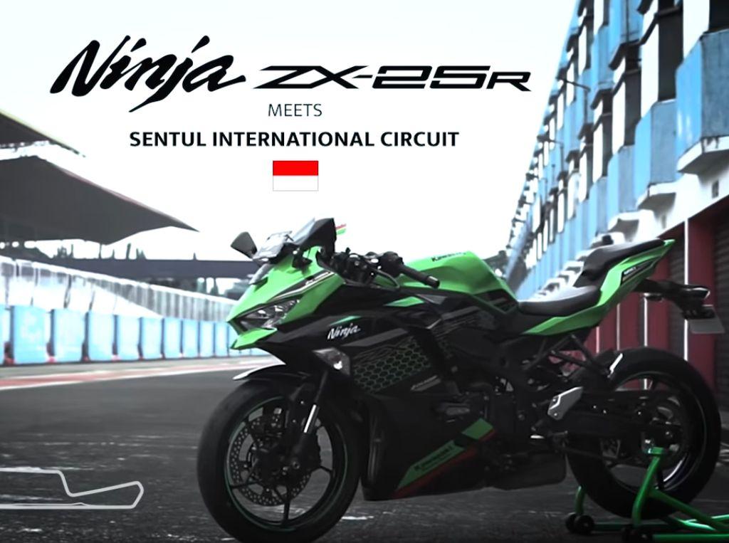 Digeber di Sirkuit Sentul, Ini Top Speed Kawasaki Ninja ZX-25R
