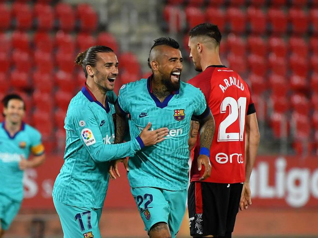 Mallorca Vs Barcelona: Lionel Messi dkk Berpesta 4-0