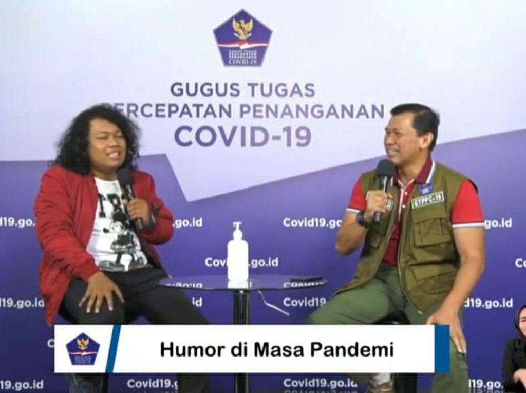 Komika Marshel Widianto Terpapar COVID-19