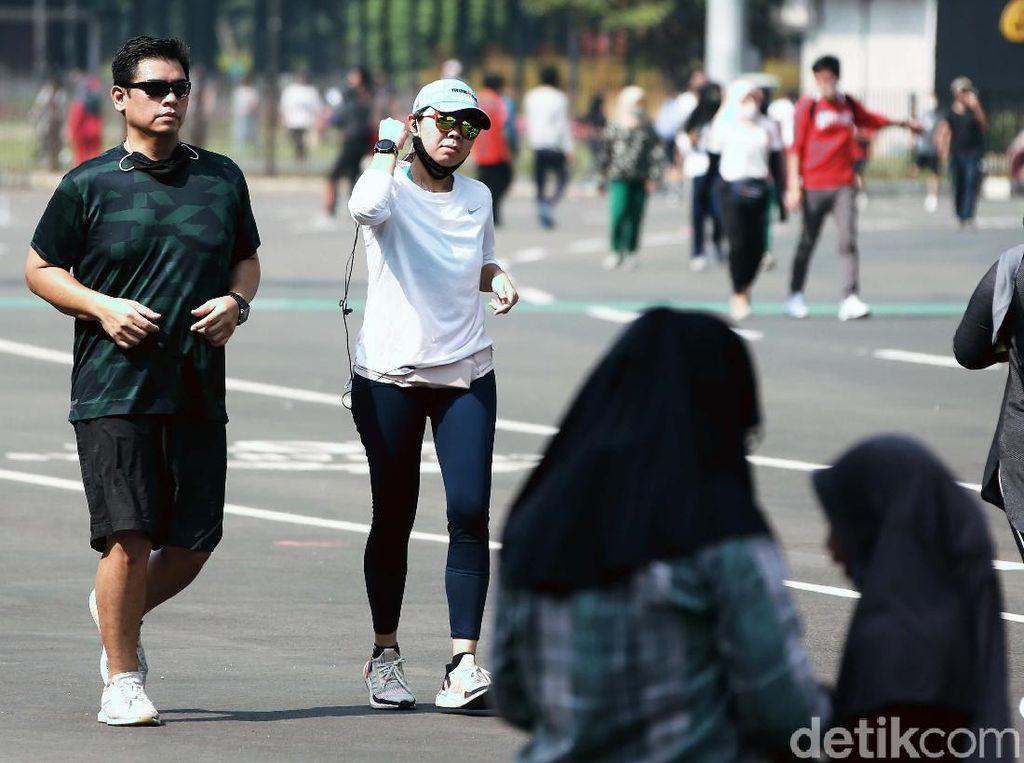 WHO Anjurkan Lepas Masker Saat Olahraga di Luar, Yakin Bisa Jaga Jarak?
