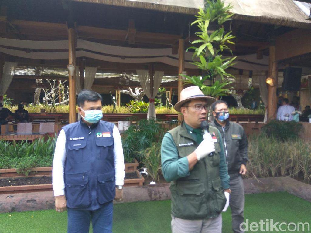 Ridwan Kamil Izinkan Warga Bodebek Liburan di Jawa Barat