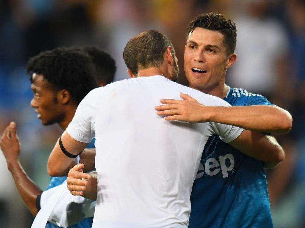 Ronaldo Dibilang Bikin Pemain Juventus Naik Level