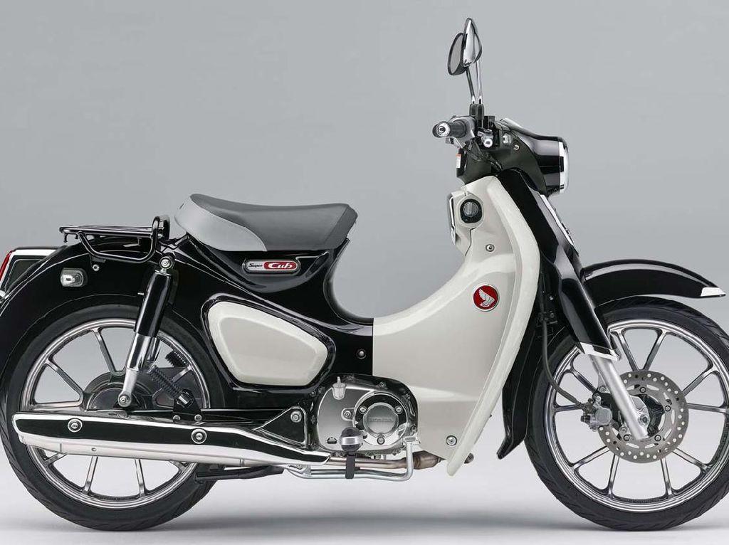 Motor Bebek Termahal Honda Dapat Penyegaran Warna