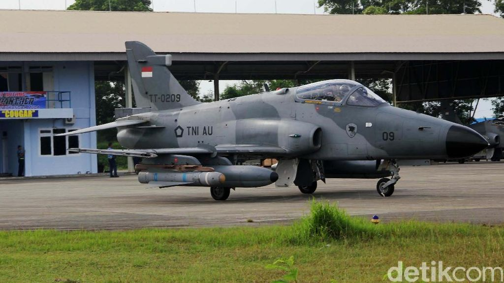 Ini Penampakan Hawk 200 TT 0209 H Sebelum Jatuh di Kampar