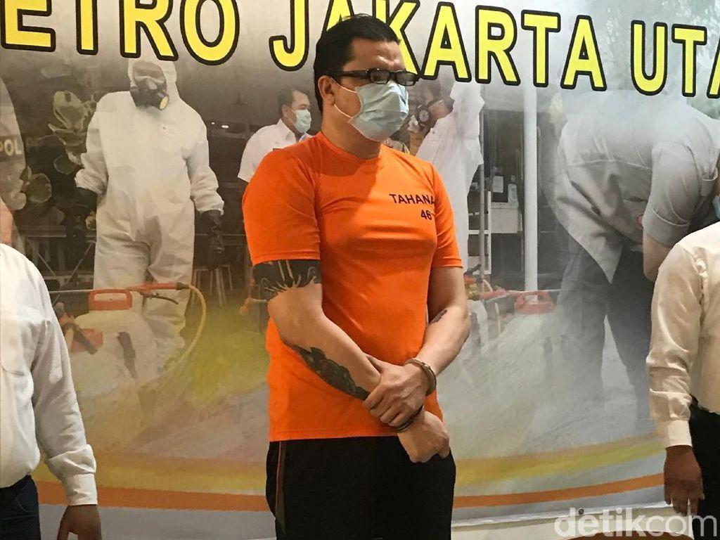 Jadi Tersangka Kasus Sabu, Jerry Lawalata Ditahan di Polres Jakut
