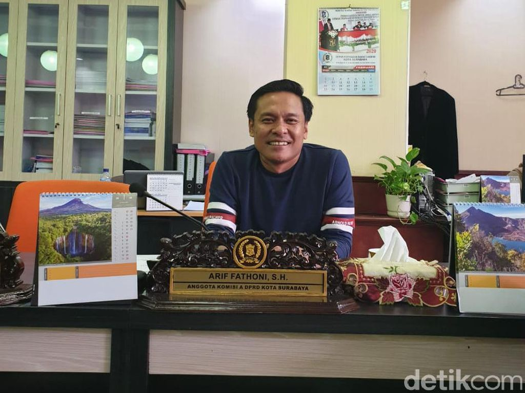 Fraksi Golkar DPRD Surabaya Sarankan Pemkot Tunda Buka Panti Pijat dan Spa