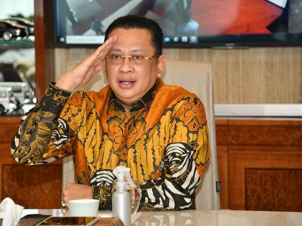 Ketua MPR Apresiasi Penundaan RUU Haluan Ideologi Pancasila