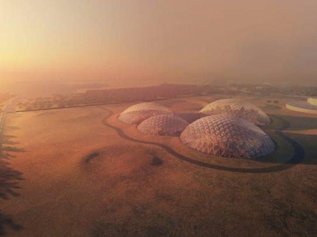Rencana Pembangunan Kota di Mars yang Menakjubkan