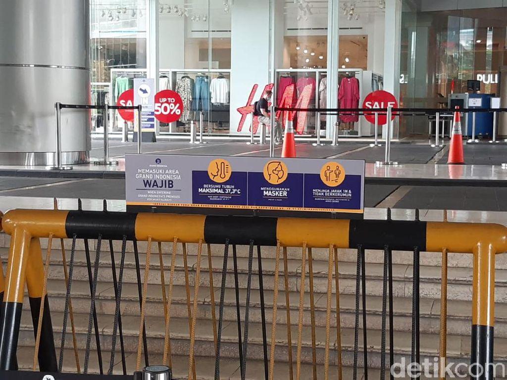 Buka Hari Ini, Grand Indonesia Pasang Jalur Antrean