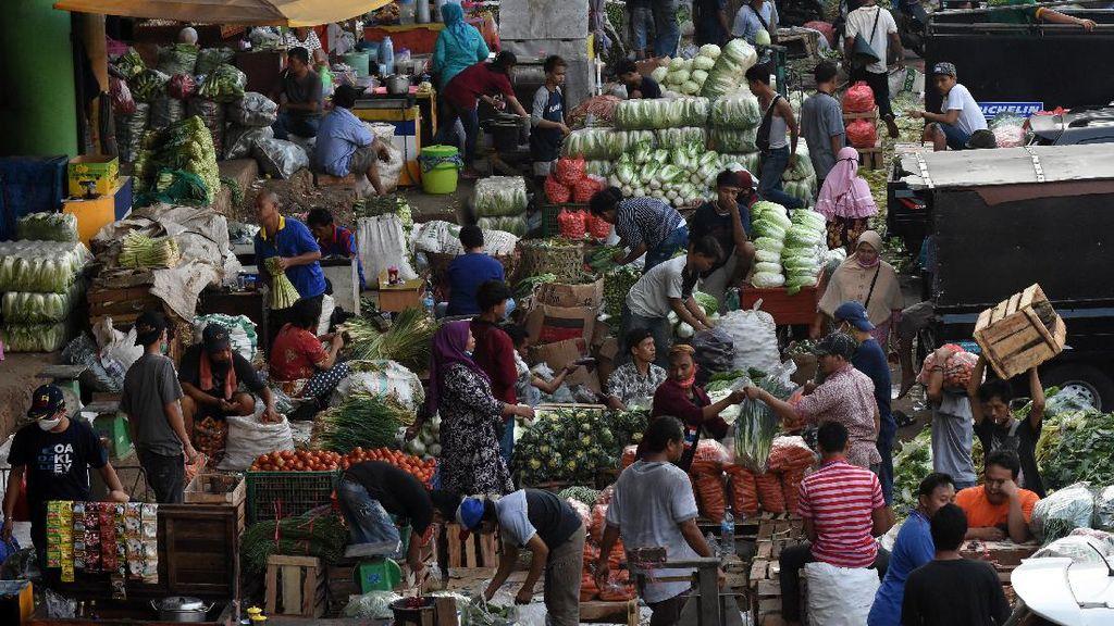 Pasar Tradisional Rentan Penularan COVID-19