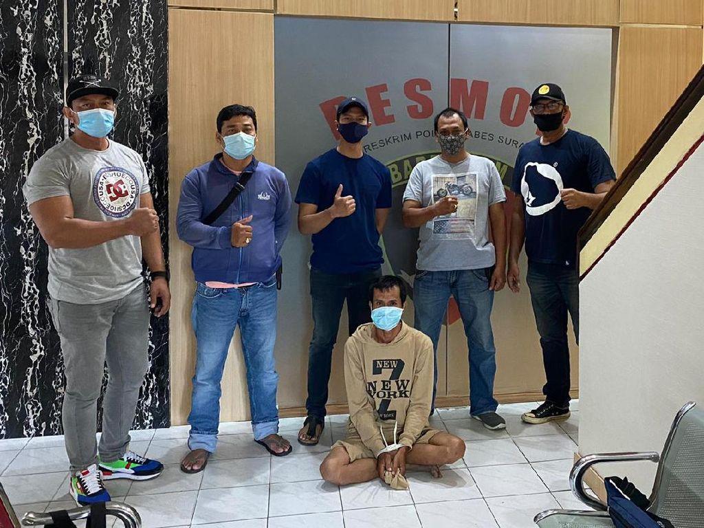 Buron Dua Tahun, Pelaku Pecah Kaca Mobil di Surabaya Diringkus
