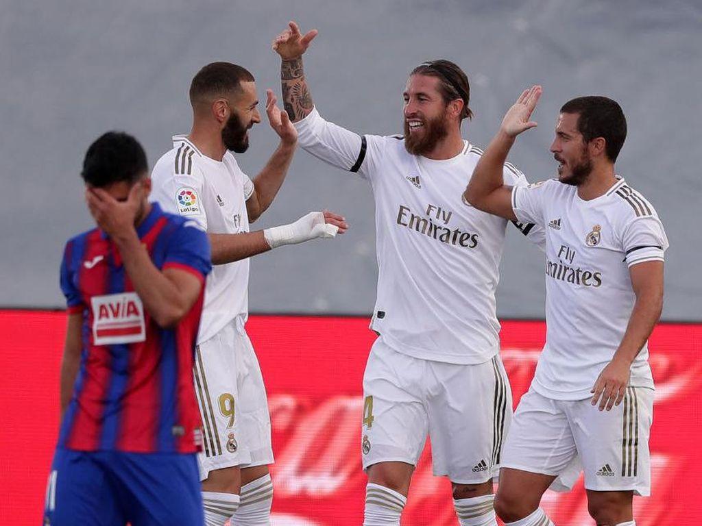 Klasemen Liga Spanyol: Madrid Terus Tempel Barcelona