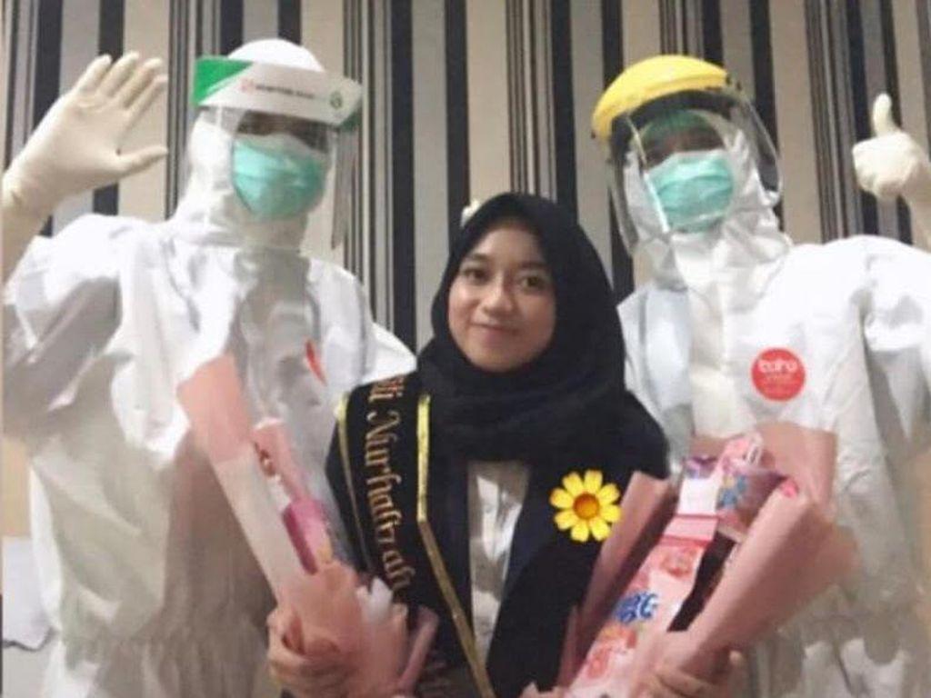 Viral Mahasiswi Yogya Terinfeksi Corona, Sidang Tugas Akhir di Rumah Sakit