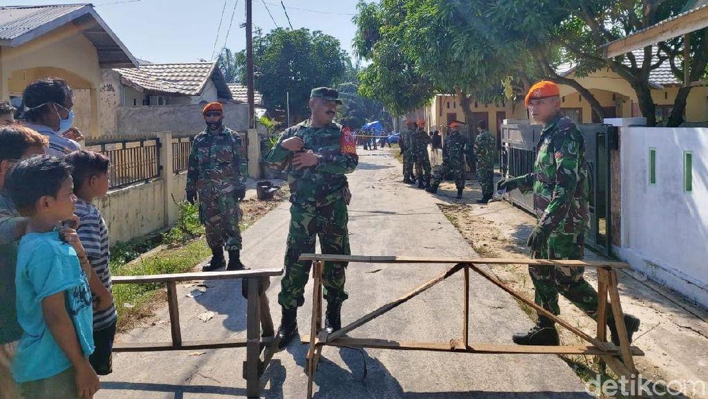 Begini Suasana di Lokasi Jatuhnya Pesawat Tempur TNI AU