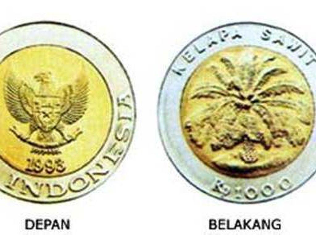 Uang Koin Rp 1.000 Kelapa Sawit Masih Laku?