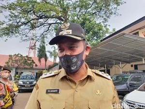 Momen Wawalkot Bekasi Tinjau Lokasi Terdampak Puting Beliung