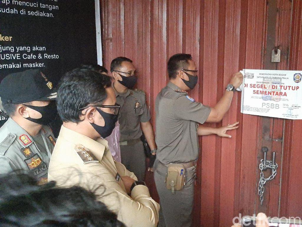 Video Tempat Karaoke di Bogor Disegel karena Nekat Buka Saat PSBB