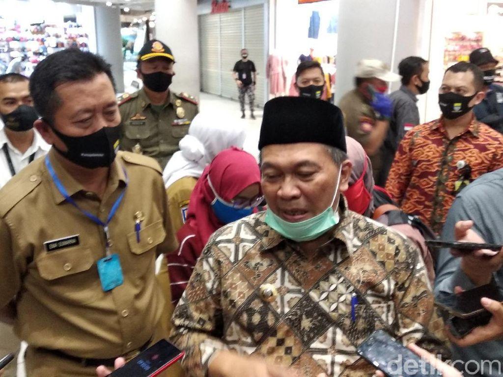 Oded Ancam Tutup Lagi Mal di Bandung yang Abaikan Protokol Kesehatan