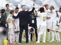 Zinedine Zidane Sudah 200 Laga Latih Real Madrid