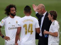 Zidane Akui Madrid Kendur di Babak Kedua