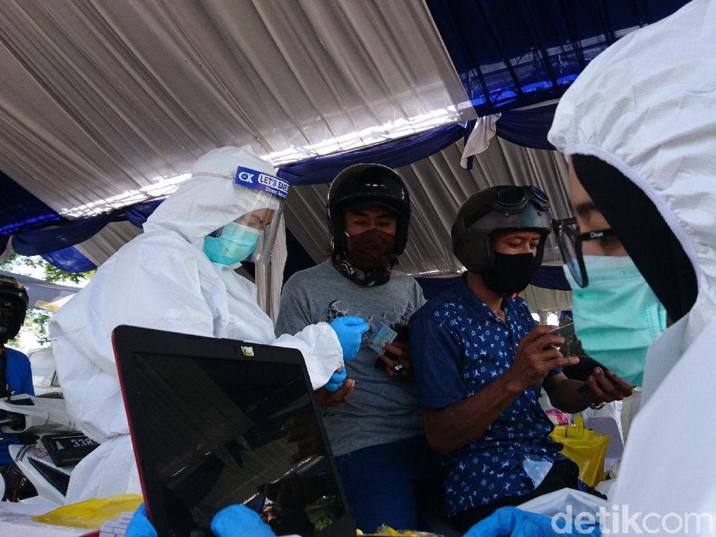 Dinkes Banten Gelar Rapid Test Drive Thru untuk 1.000 Warga di Cilegon