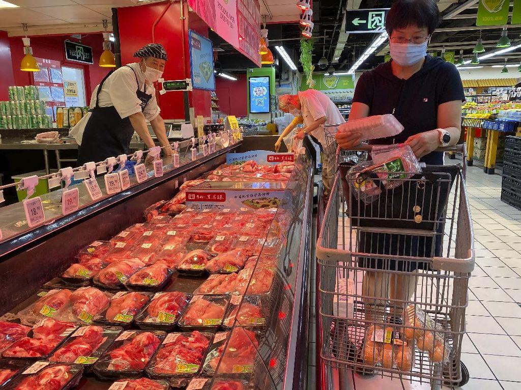 China Setop Impor Makanan Beku dari Negara dengan Kasus COVID-19 Parah