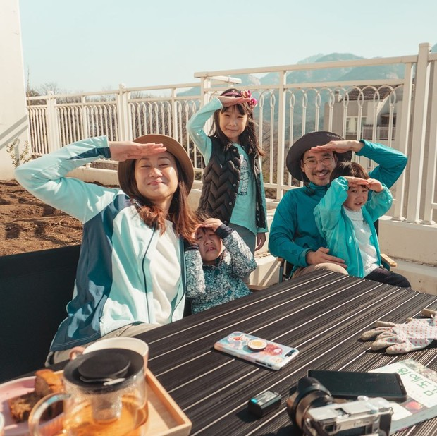 Kebersamaan Kimbab Family dalam daily vlog mereka