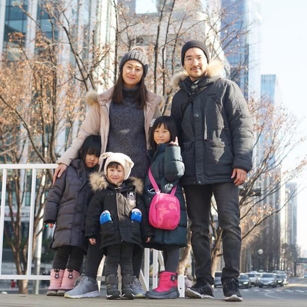 Kimbab Family menghabiskan akhir pekan bersama