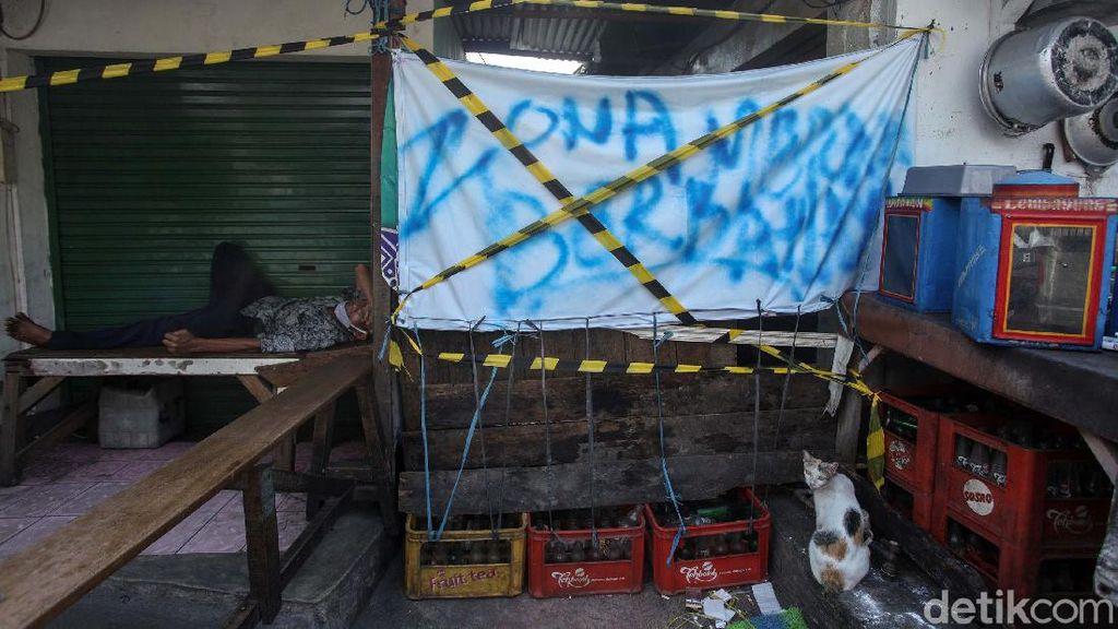 Ada 9 Pedagang Positif Corona, Pasar Petojo Enclek Tutup