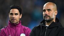 Man City Vs Arsenal, Duel Guru-Murid Guardiola dan Arteta