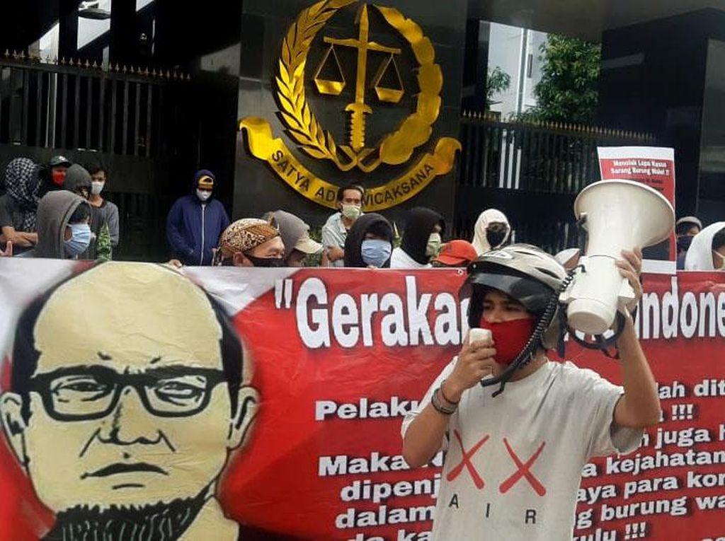 Aksi Damai untuk Kasus Novel Baswedan