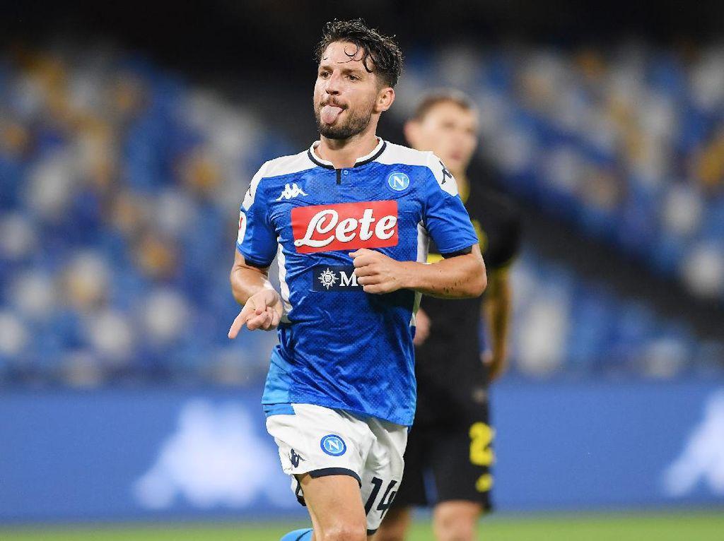 Resmi! Dries Mertens Perpanjang Kontrak di Napoli